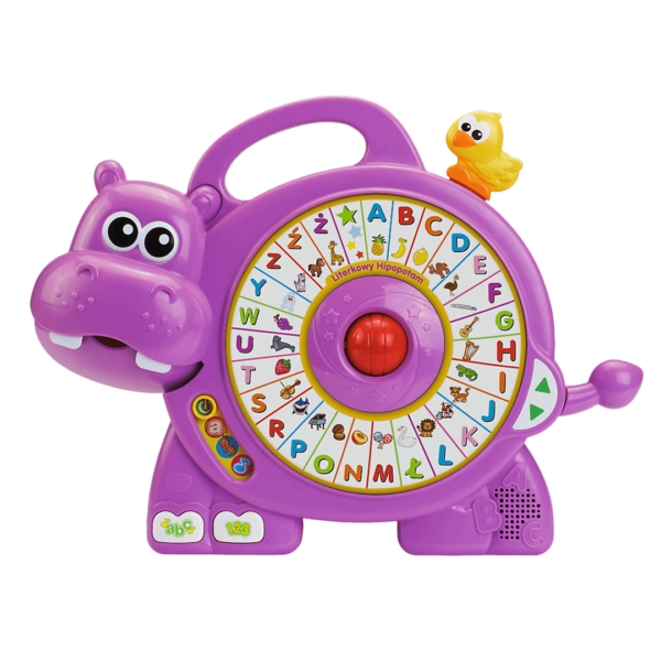 Literkowy Hipopotam
