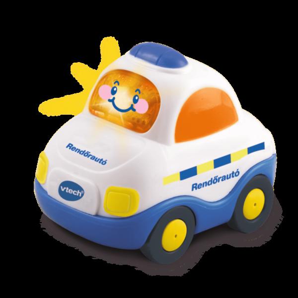 Toot-toot kisautók – rendőr autó