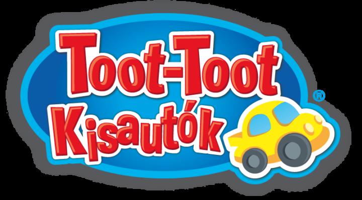 Sorozat logója Toot-toot kisautók